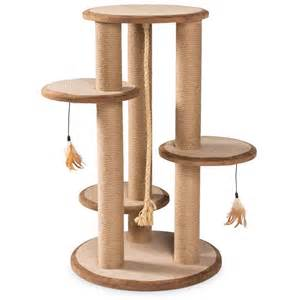 cat scratching posts kitty power paws multi tier cat scratching post 37 quot h 7150