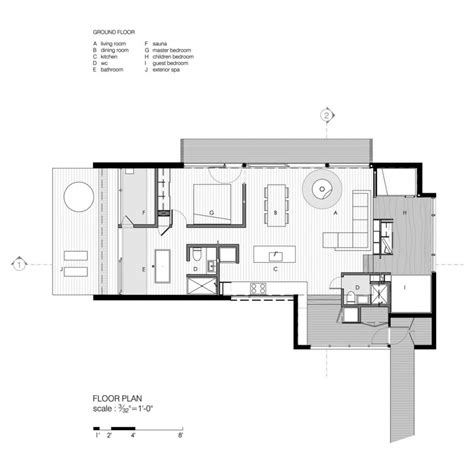 contemporary home designs and floor plans modern cottage floor plans