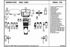 2003 Honda Civic Dash Kits
