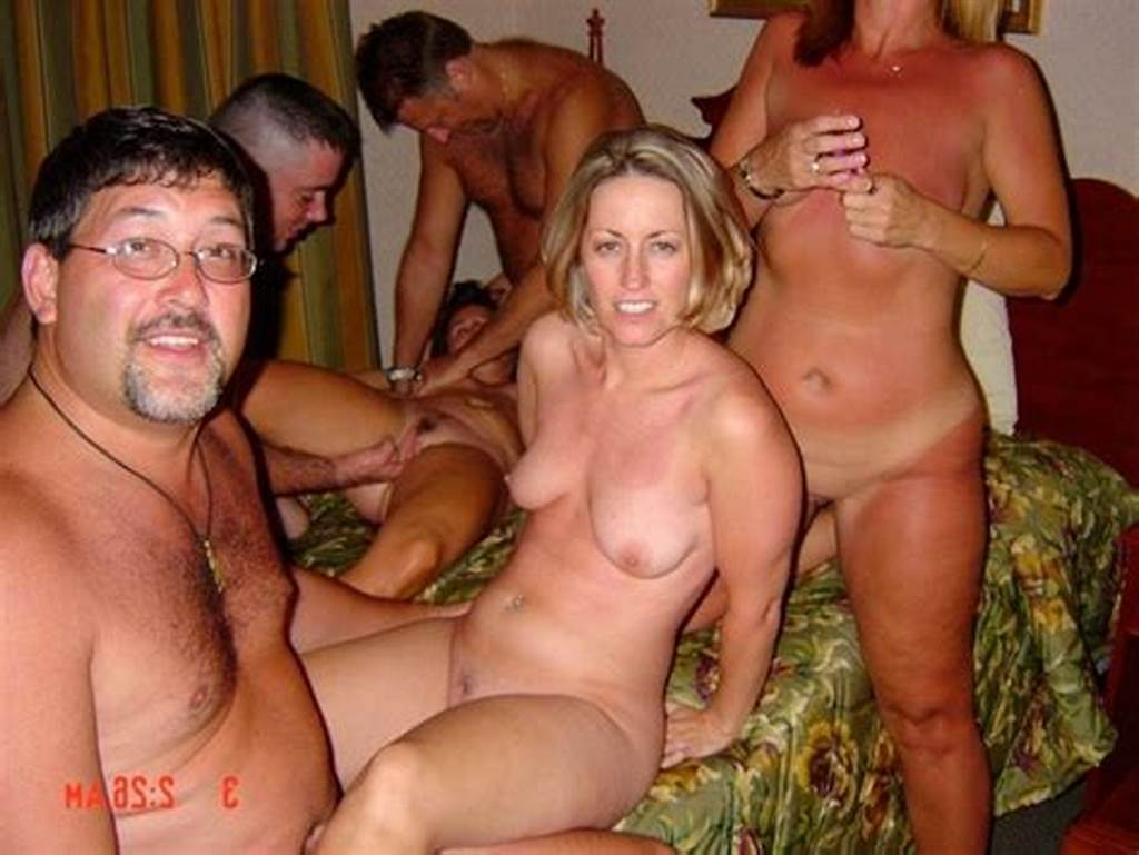 #Wife #Shared #On #Amateur #Swingers #Party
