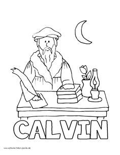 world history coloring pages printables martin luther 95 808 | 0fbf4f6679fd60be3f471425d1dd8904 john calvin church history
