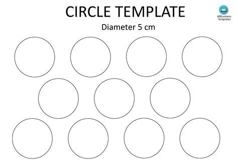 rare circle template printable brad website