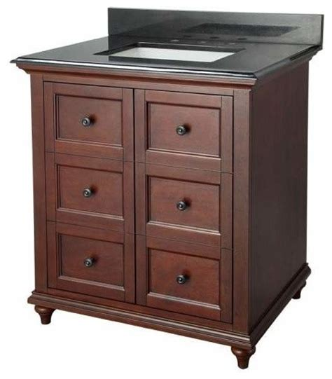 foremost admiral   vanity  traditional walnut