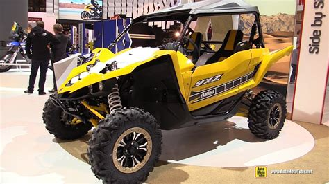 Suzuki Side By Side Utv by 2016 Yamaha Yxz1000r 60th Anniversary Side By Side Atv
