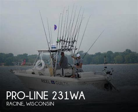 Proline Boats For Sale In Wisconsin by For Sale Used 1996 Pro Line 231wa In Racine Wisconsin
