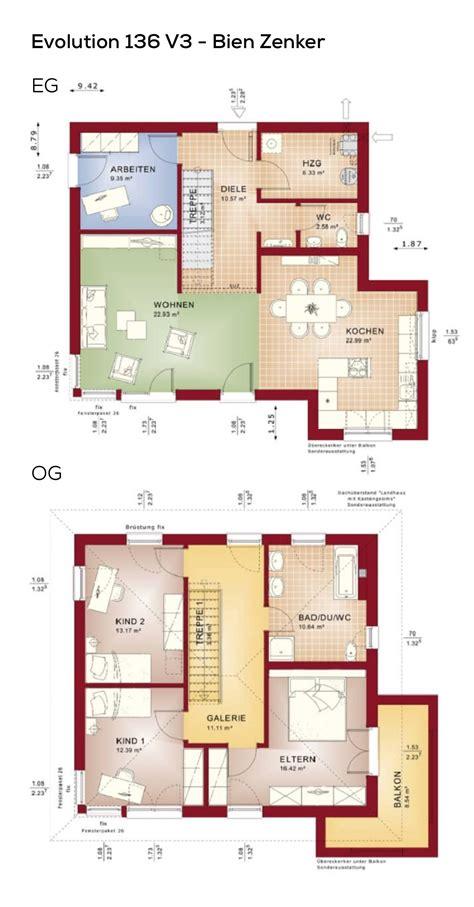 Grundrisse Efh Ohne Keller by Grundriss Stadtvilla Haus Mit Galerie Walmdach 5