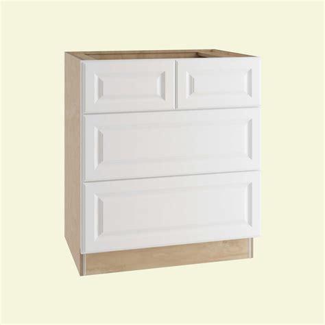 white kitchen cabinet drawers home decorators collection hallmark assembled 36x34 5x24
