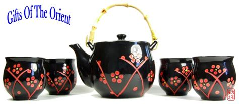 1808 tea gifts for gift set tea set black plum blossom oolong tie