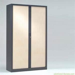 Armoire De Bureau Métallique : armoire bureau m tallique bicouleur ~ Melissatoandfro.com Idées de Décoration