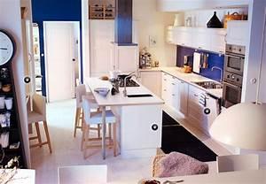 Modeles Cuisine Ikea : exemple de mod le de cuisine ikea photo 14 15 cuisine de chez ikea avec lot central ~ Dallasstarsshop.com Idées de Décoration