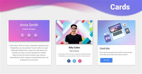 bootstrap cards examples tutorial basic advanced