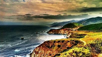 Sur California Wallpapers Coast Coastline Buzzerg Wallpapersafari
