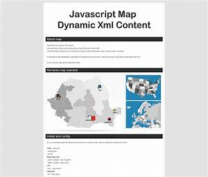 javascript map dynamic xml contentwith tooltip by aa With dynamic documents with javascript