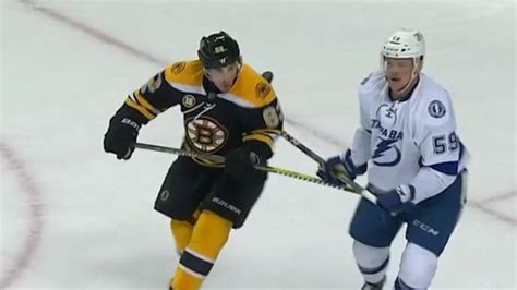 video brad marchand ejected  ugly ugly spear