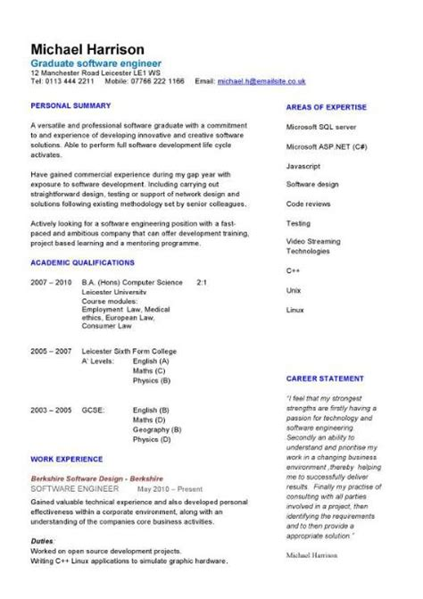 Resume For Mechanical Engineer Freshers Electrical Engineer Resume