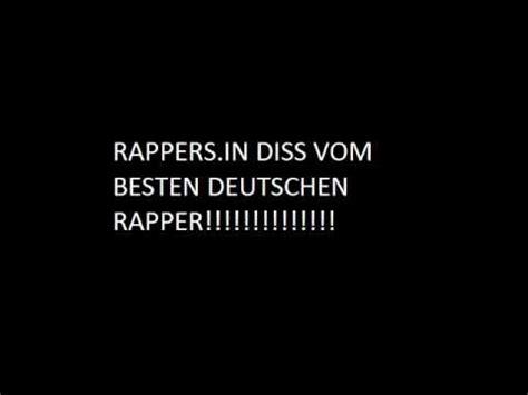 der beste deutsche rapper diss gegen rappers in