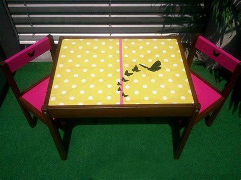 table et chaise pour b b relooking d 39 une table et chaises pour enfants guide astuces