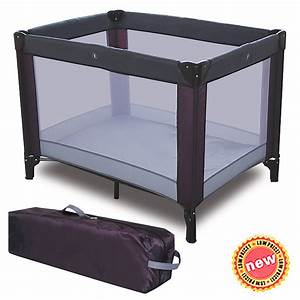 Playpen Playard Folding Baby Bed Kids Game Bed Portable ...