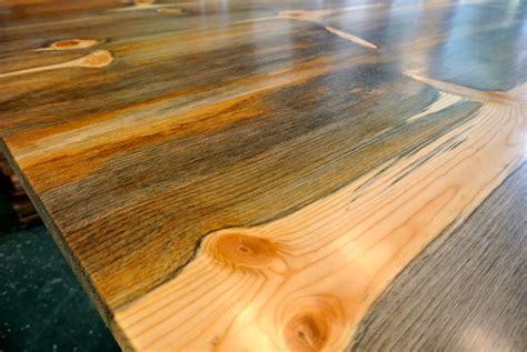 beetle kill pine table for missoula catholic schools