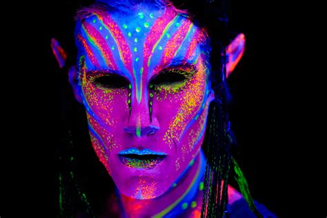 black light paint models and blacklight photography oh my dav d photography