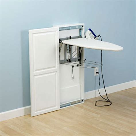 small space solutions ironing boards and blankets