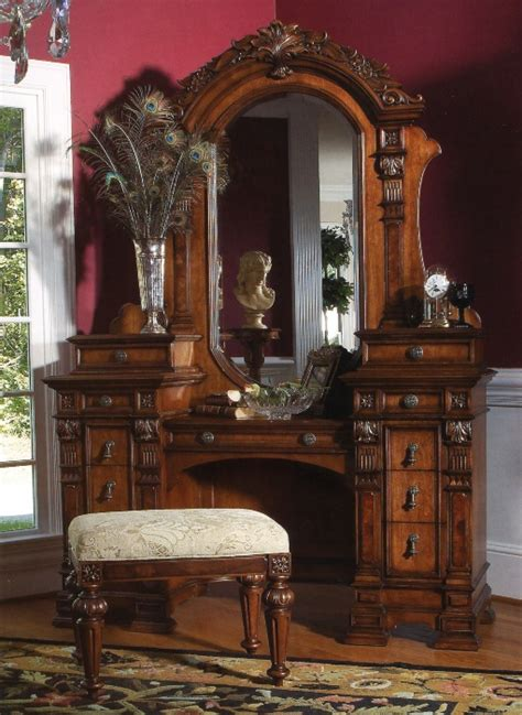 vanity dresser sets antique vanity dresser with mirror and stool drawers