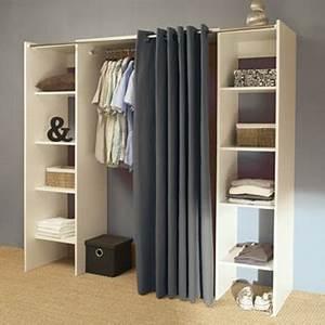 Idée Dressing Fait Maison : dressing pas cher pour un rangement d co dans la chambre ~ Melissatoandfro.com Idées de Décoration