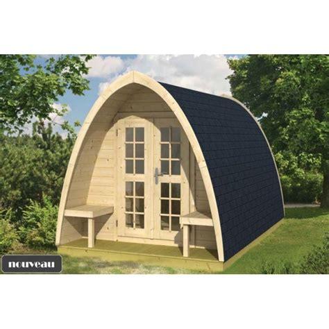 bureau de jardin en kit chalet bureau de jardin pod400 9m2 sapin du nord en kit