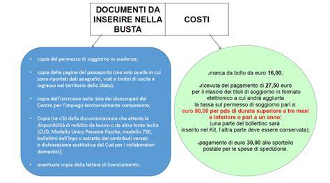 documenti per rinnovo permesso di soggiorno scaduto permesso di soggiorno per attesa occupazione benvenuti a