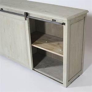 meuble bas cuisine porte coulissante evtod With porte coulissante pour meuble bas