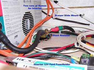Camper Inverter And Battery Installation