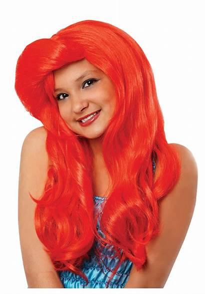 Wig Mermaid Costume Child Costumes Ariel Childrens