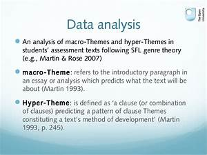 Definition Of Theme Analysis  Analysis Dictionary