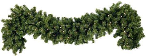 decorated christmas garland xmasblor