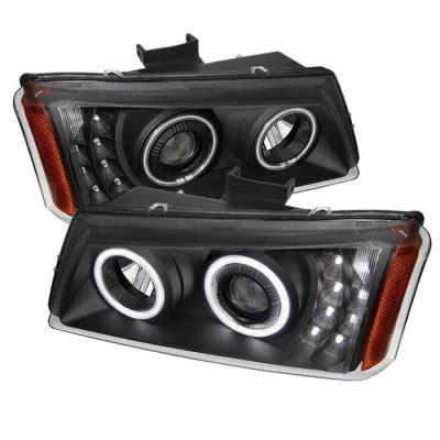 2004 chevy silverado halo lights chevy silverado 2500 2003 2004 black projector headlights