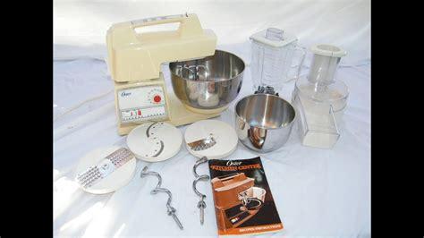 oster kitchen center base top blender food processor