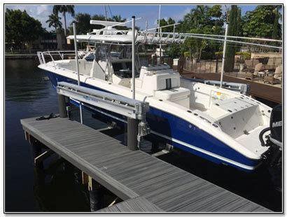 Neptune Boat Lifts Fort Lauderdale by Miami Florida Boat Lift Sales Service And Repair