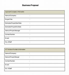 business proposal template 39 free word pdf documents With how to create a proposal template in word