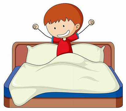 Bed Boy Doodle Vector Clipart Graphics System