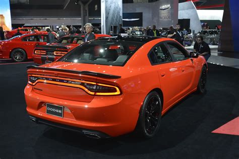 Dodge Charger And Challenger by Dodge Charger And Challenger Go Mango At New York Carscoops