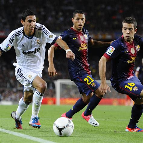 Real Madrid vs. Barcelona: 6 Key Battles to Watch in ...