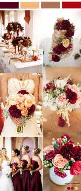 maroon wedding colors 35 inspiring burgundy and wedding ideas for 2017 결혼식 아이디어 색깔 및 꽃