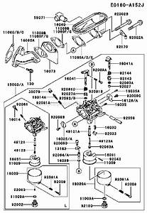 Kawasaki Fb460v Parts List And Diagram