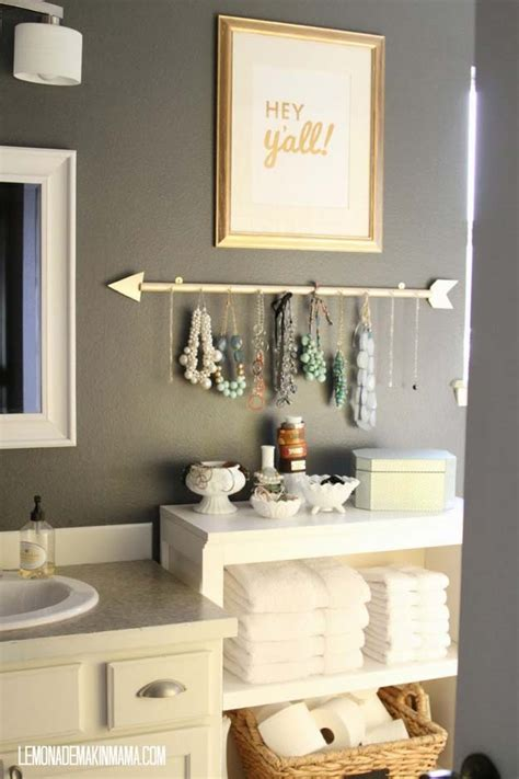 fun diy bathroom decor ideas
