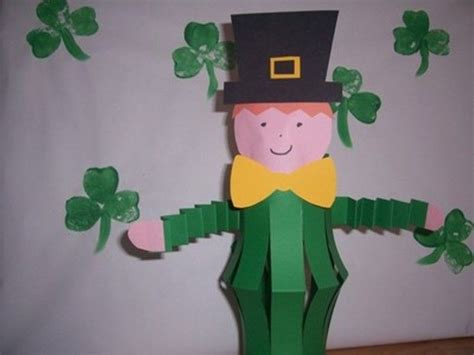 st patricks day crafts for preschoolers leprechaun craft idea for crafts and worksheets for 812