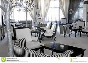 Luxury Cafe Or Lounge Room Stock Image Image Of Empty