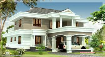Beautiful Home Plan by 2540 Sq Beautiful House Elevation Indian Home Decor