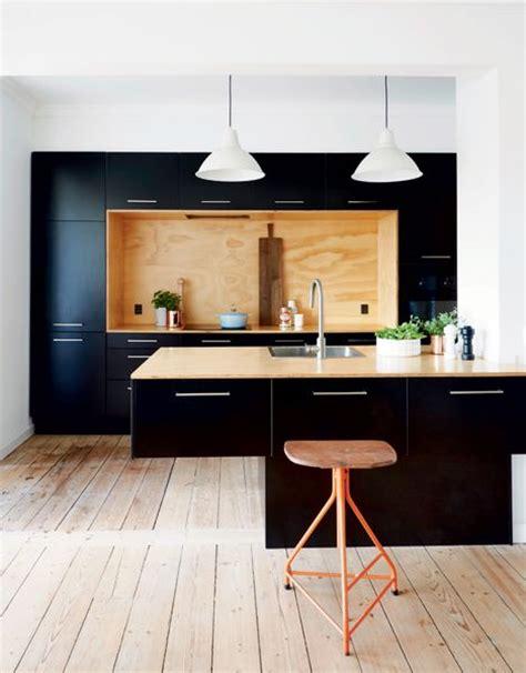 black and wood kitchen cabinets les 25 meilleures id 233 es de la cat 233 gorie cuisine et 7862