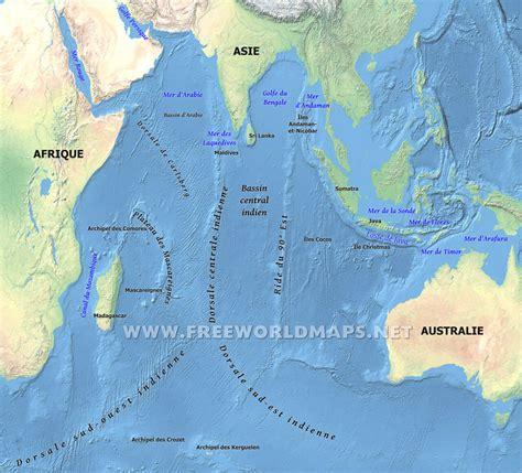 Indien Carte Du Monde by Oc 233 An Indien Carte Voyages Cartes