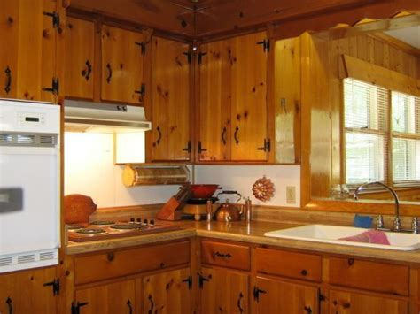 keeping knotty pine   kitchen google search